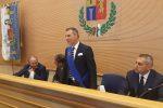 Il presidente della Provincia di Vibo Salvatore Solano e Piero Marrese, del direttivo nazionale dell'Upi