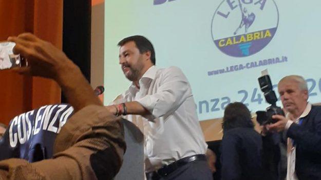 regionali calabria 2019, Mario Occhiuto, Matteo Salvini, Cosenza, Calabria, Politica