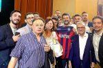 """Maglia del Crotone con scritta Lega a Salvini, il club: """"Non strumentalizzate i nostri colori"""""""