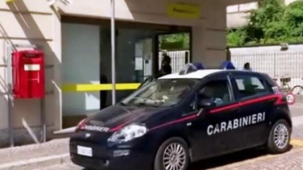 mottafollone, rapina, ufficio postale, Cosenza, Calabria, Cronaca