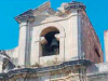 Monastero di Barcellona colpito da un fulmine, il campanile si sgretola