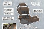 """Nissan celebra il """"National Video Games Day"""" con tre modelli di sedia da gaming"""