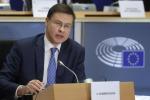 Dombrovskis, aprire dibattito su riforma Patto