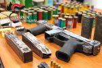 'Ndrangheta, trovato l'arsenale dei Piscopisani: armi da guerra pronte a sparare