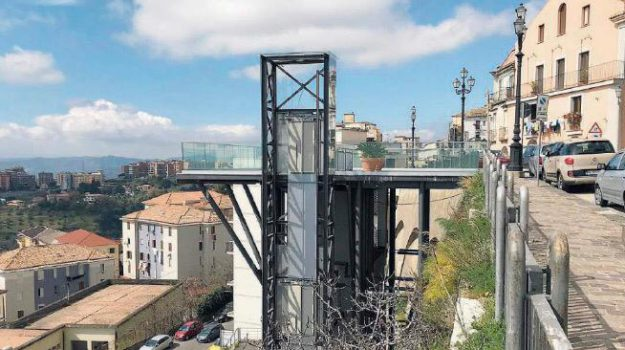 ascensore Bellavista, Catanzaro, Calabria, Cronaca