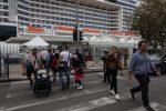 Una foto d'archivio di una crociera approdata a Messina