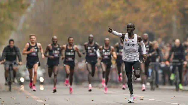 maratona, Eliud Kipchoge, Sicilia, Sport