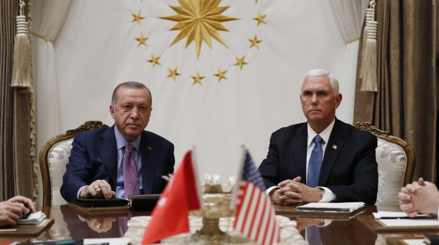 guerra, siria, turchia, Donald Trump, Mike Pence, Recep Tayyip Erdogan, Sicilia, Mondo