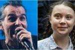 """""""Picnic all'inferno"""", Piero Pelù """"duetta"""" con Greta Thunberg"""