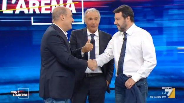 tv, Giorgio Trizzino, Massimo Giletti, Sicilia, Politica