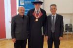 Il rettore dell'Università della Calabria Nicola Leone professore ad honorem a Vienna