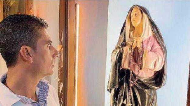 lacrimazioni Madonna, Madonna di Giampilieri, Pina Micali, Messina, Sicilia, Società