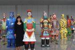 """Una scultrice calabrese in Cina, Mariella Costa rappresenta l'Italia alla """"Via della seta"""""""