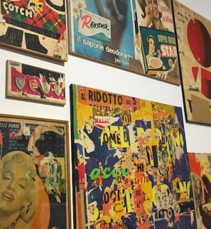 "Pop Art e Dècollage, a Catanzaro la mostra ""Mimmo Rotella e la storia dell'arte"""
