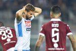 Serie A: il Napoli frena a Torino, vola l'Atalanta e per la Roma pari e polemiche