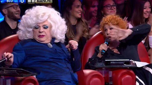 amici celebrities, tv, Ornella Vanoni, Platinette, Sicilia, Società