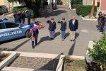 """Agenti uccisi a Trieste, l'omaggio dei carabinieri di Messina: """"Il nostro cuore è con loro"""" - Foto"""