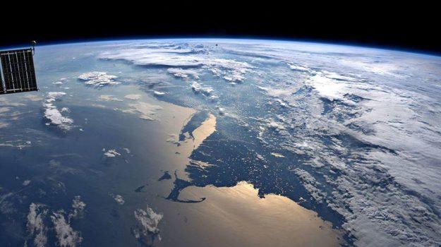 spazio, terra, Luca Parmitano, Sicilia, Mondo