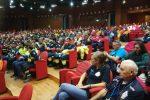 """A Lamezia incontro con la Protezione civile, Borrelli: """"Non saremmo nulla senza i volontari"""""""