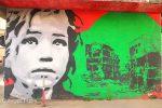 La street art decora le strade di Valverde: le opere degli artisti sui muri