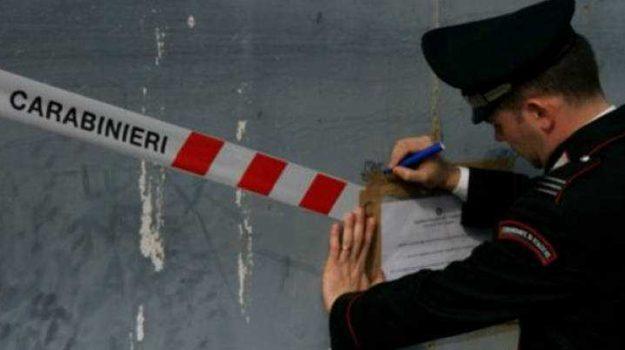carrozzeria abusiva, sequestro Montalto, Cosenza, Calabria, Cronaca