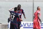 Terza vittoria di fila per il Crotone, superata l'Entella per 3-1