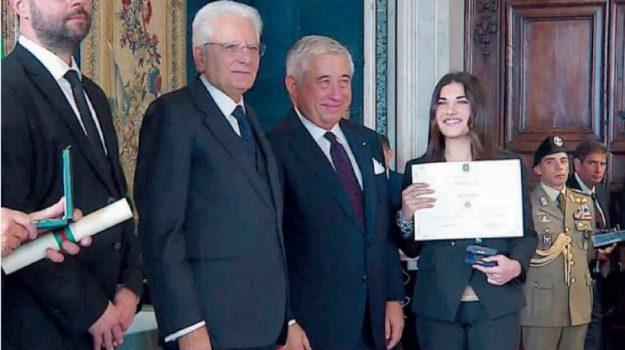 Sergio Mattarella, Sofia Zanetti, Cosenza, Calabria, Società