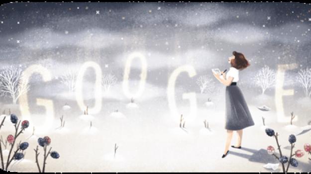 doodle google 27 ottobre, Sylvia Plath, Sicilia, Cultura