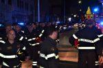 Poliziotti uccisi a Trieste, a Palermo l'omaggio dei vigili del fuoco