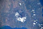 Luca Parmitano fotografa l'Etna in eruzione, nuova foto dallo Spazio