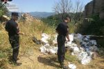 Deposito e abbandono di rifiuti speciali, due denunce a Cosenza