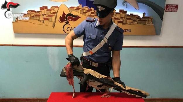 arresti Crotone, detenzione di armi, furto, Catanzaro, Calabria, Cronaca