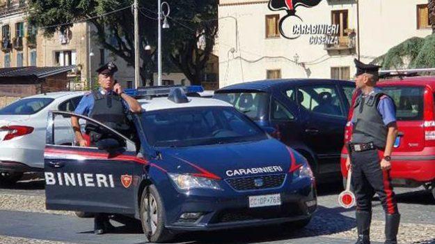 carabinieri, Cosenza, Calabria, Cronaca
