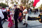 A Reggio il giorno dei Morti in chiave messicana, le foto della sfilata