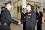 Il generale di brigata Paterna in visita ai carabinieri di Crotone