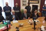 La conferenza stampa sull'omicidio Tersigni