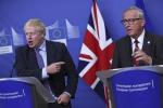 Brexit: Juncker, prima ratifichi Londra poi toccherà al Parlamento Ue