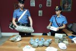 Dieci chili di droga nascosti in casa, arrestata una coppia a Messina