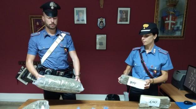 carabinieri, droga, Messina, Sicilia, Cronaca