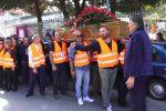 A Messina l'ultimo saluto a Giovanni Caponata, l'operaio dei cantieri di servizi morto sul lavoro - Foto