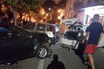Terrore in centro a Tarsia, violento incidente dopo un inseguimento tra due auto - Foto