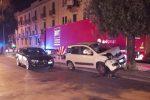 Con l'auto contro un albero in via La Farina, ferita una donna. Sfilza di incidenti a Messina - Foto