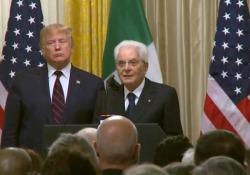 Iss, Mattarella: «Gli uomini e le donne in orbita ci parlano di futuro» Le dichiarazioni dalla Casa Bianca - Ansa