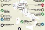 """Le grandi opere """"sospese"""", la mappa del governo lascia fuori la Sicilia"""