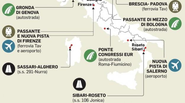 infrastrutture, paola de michelis, Messina, Sicilia, Economia