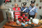 Nascondeva in casa un chilo e mezzo di marijuana, arrestato 43enne di Belvedere Marittimo