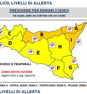Allerta meteo a Messina e provincia, domani scuole chiuse: ecco dove