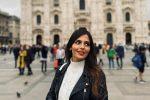 """La miss calabrese Myriam Melluso a Milano: """"Vorrei trasferirmi qui, di Reggio mi mancherà il mare..."""""""