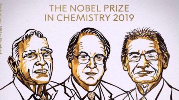 nobel, Akira Yoshino, John B. Goodenough, M. Stanley Whittingham, Sicilia, Mondo