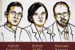 Premio Nobel per l'Economia assegnato a Banerjee, Duflo e Kremer